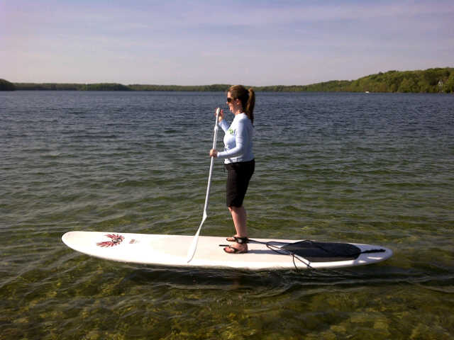 Stand-Up Paddleboarding on Cape Cod